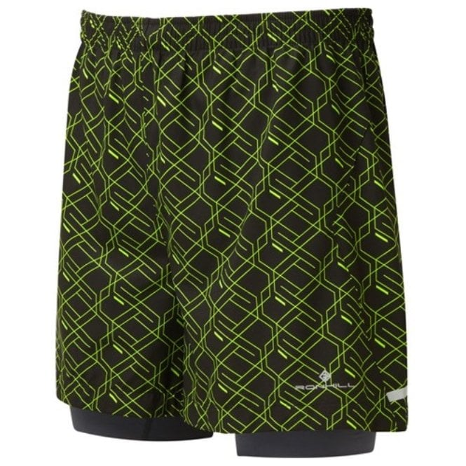 Ronhill Men's Momentum Twin 5'' Short