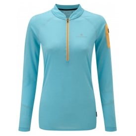 Ronhill Women's Infinity Long Sleeve Zip Tee
