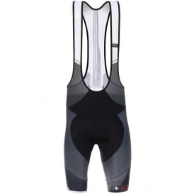 Santini Sleek Plus Bib Shorts White