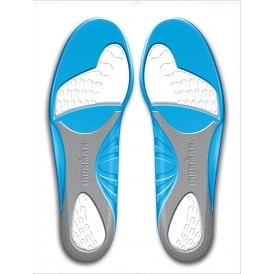 Spenco Ironman Performance Gel Insoles Blue/Grey/White