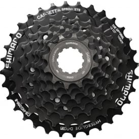 Shimano HG200 7 Speed Cassette 12-28T Black