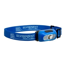 Silverpoint Spark II X140 USB Rechargeable Headtorch Blue