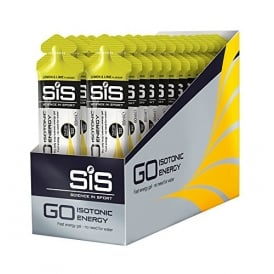 SIS GO Isotonic Gel Lemon & Lime (30 x 60ml)
