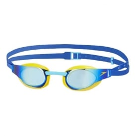 Speedo Fastskin Elite Mirror Junior Goggle Yellow/Blue