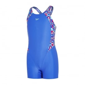 Speedo Girl's Panel Legsuit