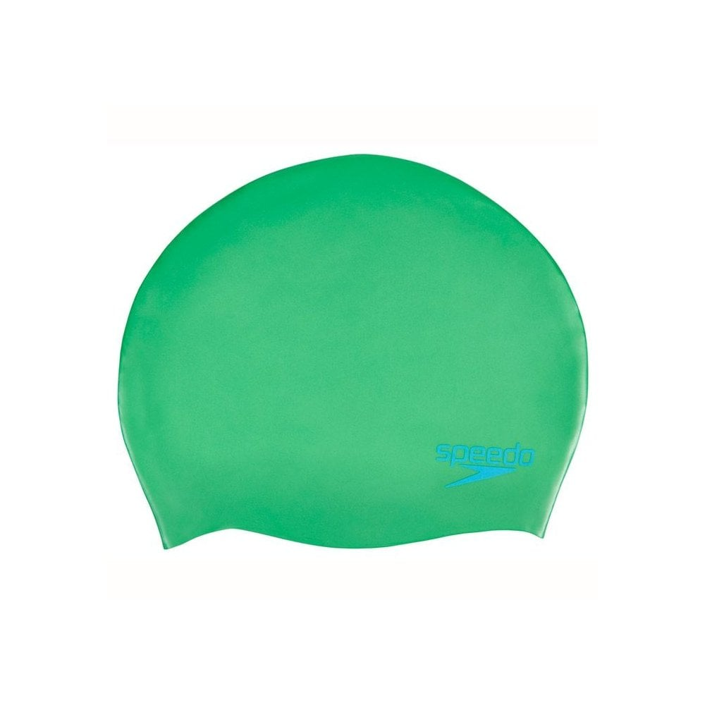 Speedo Plain Moulded Silicone Junior Swim Cap - Swimming from The ... 58503991ee8e5