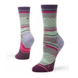 Stance Women's Motivation Crew Socks Purple