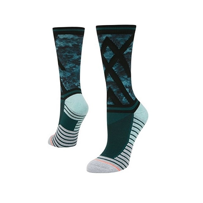 Stance Women's Athletic Precision Crew Socks Teal