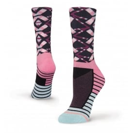 Stance Women's Axis Crew Athletic Socks Purple