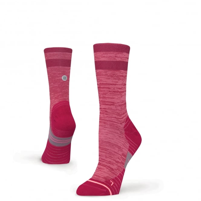 Stance Women's Run Uncommon Solid Crew Socks