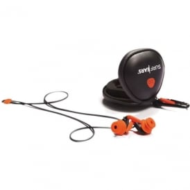 SurfEars 2.0 Surfers Ear Plugs With leash and Carry Case