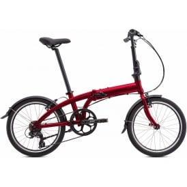 Tern Link A7 Folding Bicycle Red