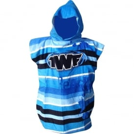 TWF Boys Childs Poncho Towel Changing Robe