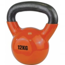 UFE Vinyl Coated Kettlebell 12kg Orange