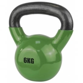 UFE Vinyl Coated Kettlebell 6kg Bottle