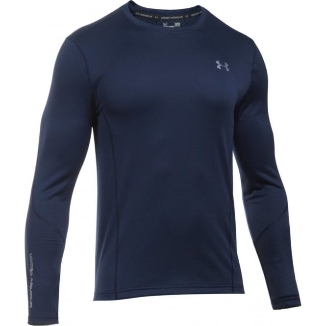 UNDER ARMOUR Cold Gear Infrared Grid Fitted Long Sleeve T-Shirt
