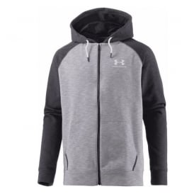 UNDER ARMOUR ColdGear Sportstyle Full Zip Triblend Hoodie Jacket
