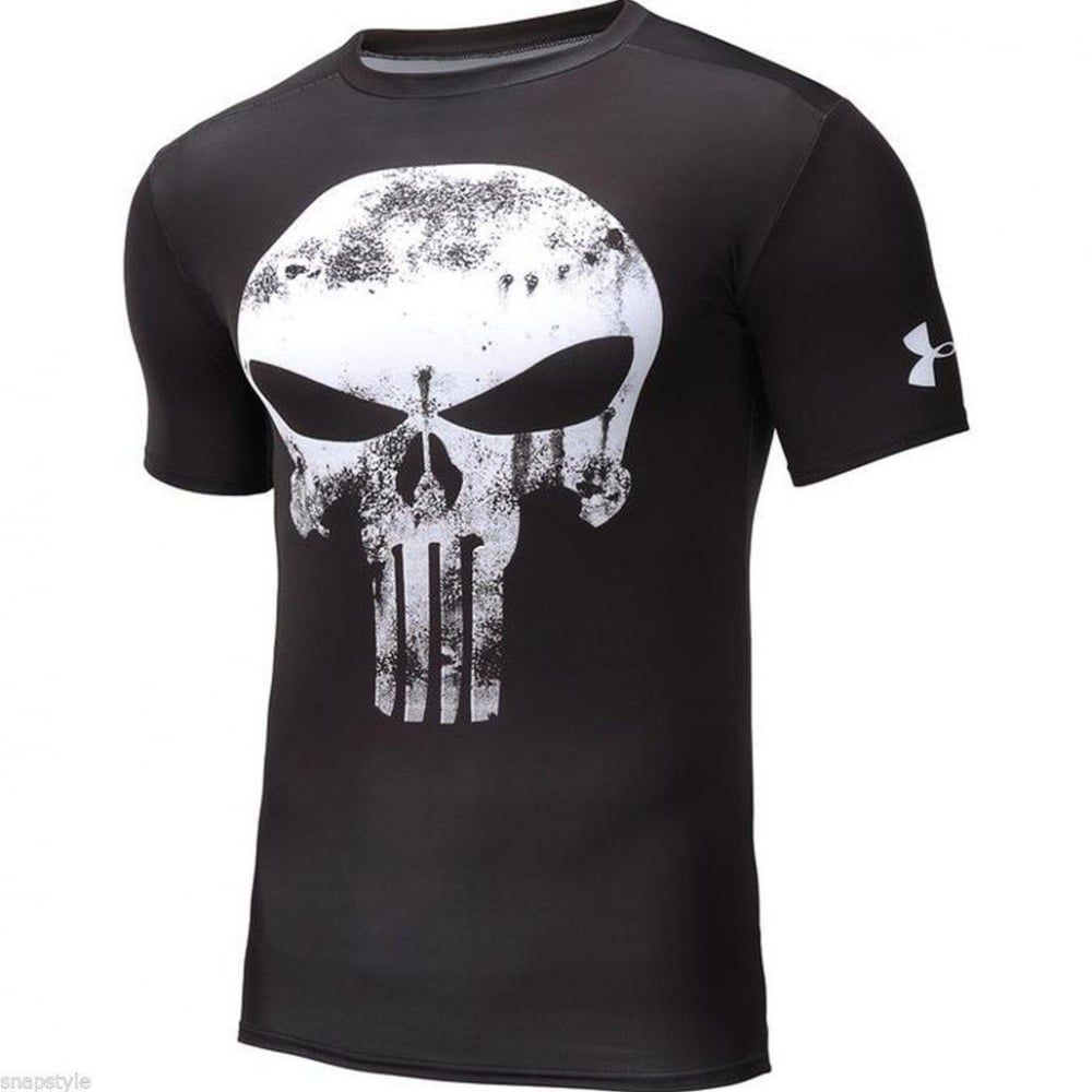 Under Armour Under Armour Punisher Compression Shirt Running From