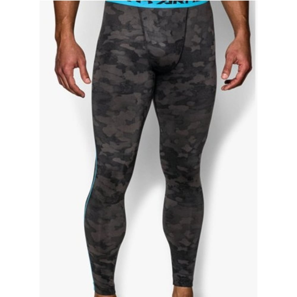 fcd8503d70742 UNDER ARMOUR UA Print Compression Leggings - Tights & Trousers from The  Edge Sports Ltd