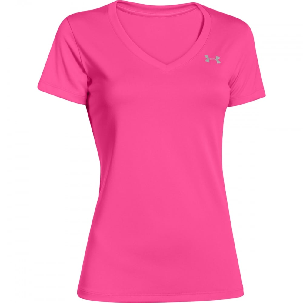 040dbe1a UNDER ARMOUR UNDER ARMOUR Women's UA Tech™ V-neck T-shirt