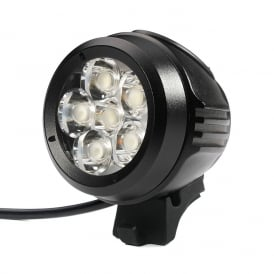 Xeccon Zeta 5000 Lumens LED USB Handlebar Helmet Front Light With Remote