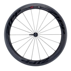 404 Firecrest Carbon Clincher Front Wheel with Stealth Decals