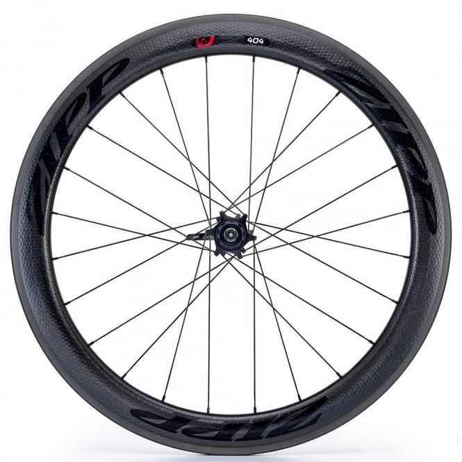 Zipp 404 Firecrest Carbon Clincher Rear Wheel with Stealth Decals