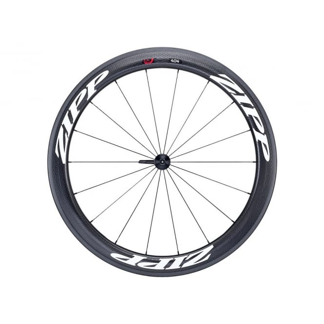 Zipp 404 Firecrest Carbon Clincher Rear Wheel with White Decals