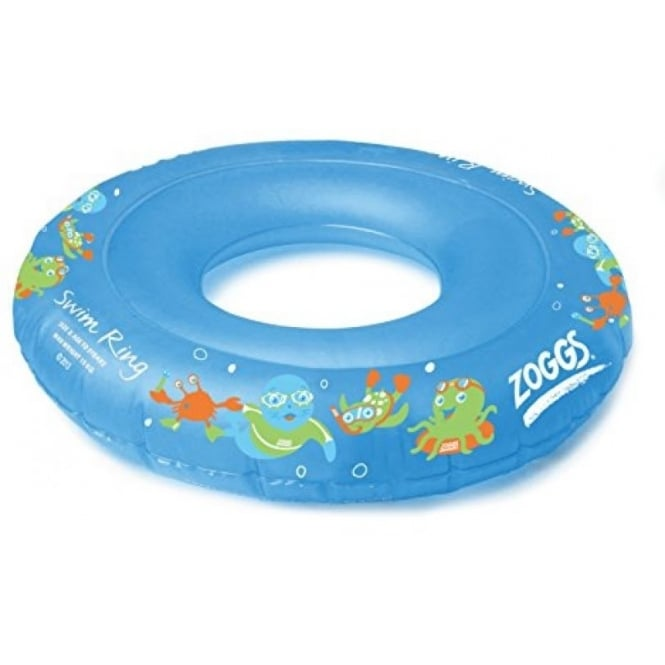 Zoggs Boy's Swim Inflatable Floatation Ring Blue