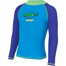 Zoggs Deep Sea Long Sleeve Sun Protection Top
