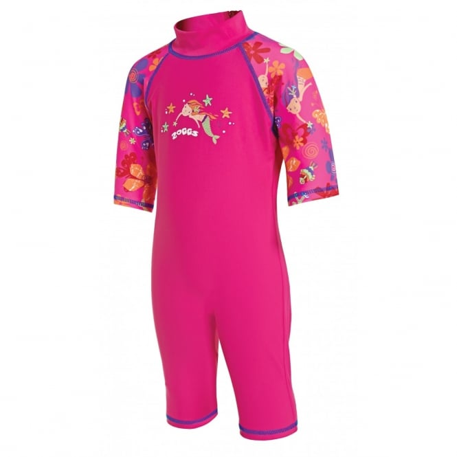 Zoggs Mermaid Flower Sun Protection One Piece